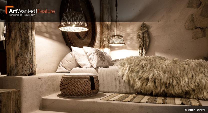 Otro ejemplo de la galería de Rebusfarm es Amir Chermi, gran artista orientado a la creación de interiores.
